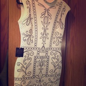 Bebe quilted dress